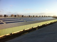 50kWp Commercial Solar Installation on Poultry Farm